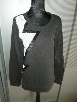 Pullover grau weiß rich & royal