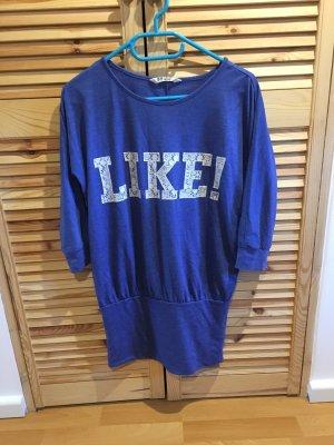 Long Sweater cornflower blue