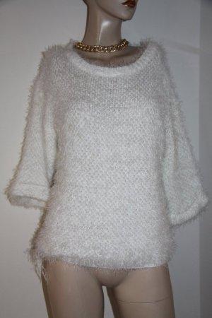 Pullover Größe 38 weiß neuwertig