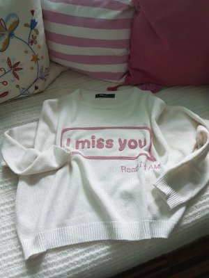 "Pullover, Grösse S ""i miss you"""