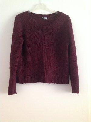 Pullover Größe S in weinrot