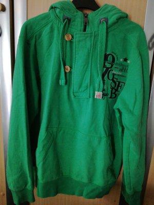 angelo litrico Capuchon sweater groen