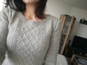 Anna Dello Russo for H&M Long Sweater light grey