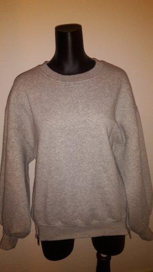 H&M Maglione oversize grigio chiaro-grigio