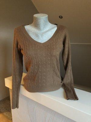 Pullover, H&M, braun- Cognac, Größe S