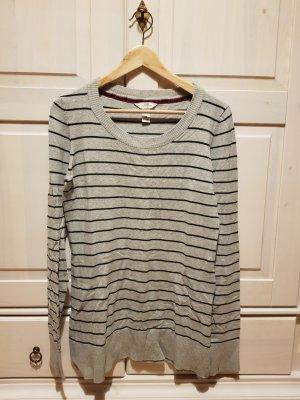 H&M L.O.G.G. Sweater zwart-grijs
