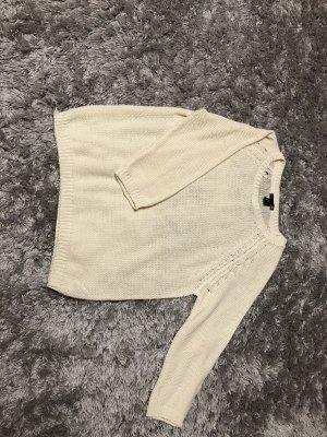 Pullover H&M cremeweiß/wollweiß