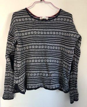 Pullover, H&M, Größe S/36, dunkelblau
