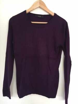 Pullover Hallhuber dunkles Violett
