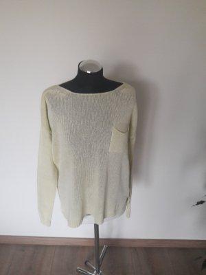 pullover hallhuber gr. s hellgelb