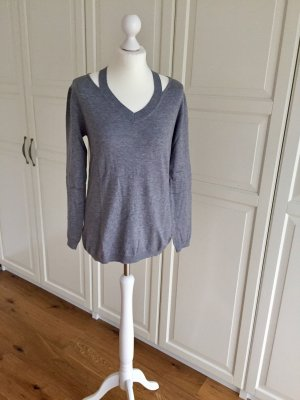 Pullover hellgrau 38 just Woman