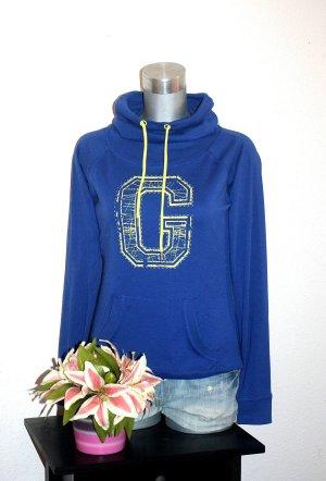 Pullover Hoodie gr.38/40 Großer Kragen Sports Style