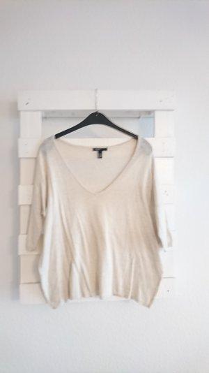 Pullover I oversize I beige I Mango I 34 I XS