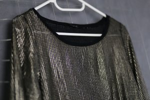 Pullover im Metallic-Look