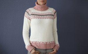 InScene Pull norvégien multicolore coton