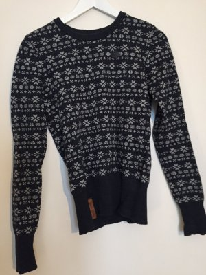 Naketano Norwegian Sweater dark blue-white