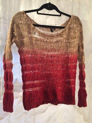 Pullover im Ombrelook