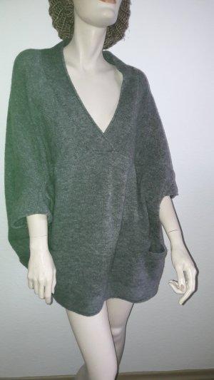 Pullover im ponchostyle, Gr.L v.s.Oliver mit V-Ausschnitt