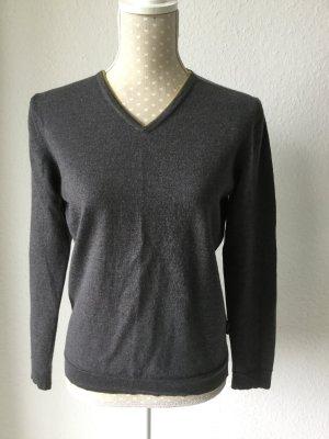 Pullover in beige grau, Größe S