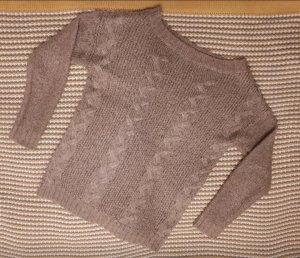 Pullover in beige (Größe S)