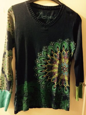 desigual pullover g nstig kaufen second hand m dchenflohmarkt. Black Bedroom Furniture Sets. Home Design Ideas