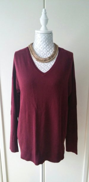 Pullover in bordeaux von C&A