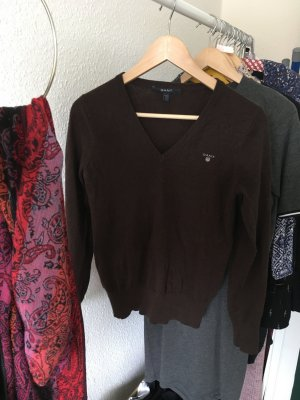 Pullover in braun