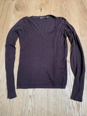 Pullover in braun von ZARA