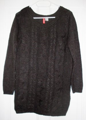 Pullover in dunkelbraun