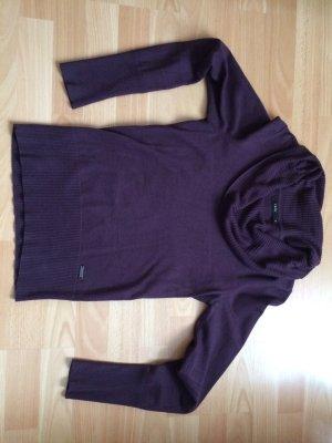 Pullover in dunklem lila, Größe 34 (Zero)
