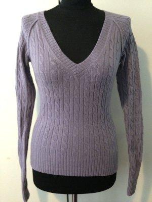 Pullover in Flieder von Marc O' Polo, 100% Merinowolle, Gr. S