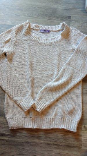 Pullover in Glitzeroptik