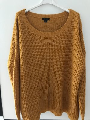 Pullover in Herbst gelb