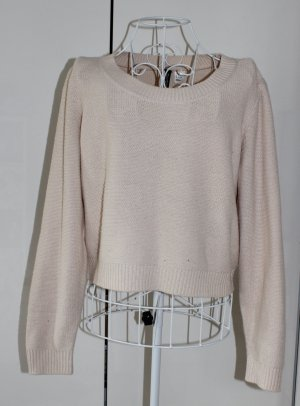Pullover in nude