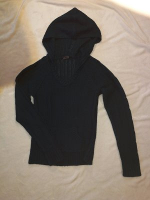 Pullover in Petrol