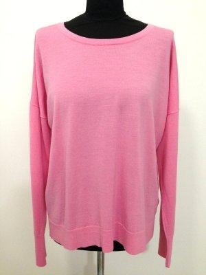Pullover in pink aus 100% Wolle von Uniqlo, Gr. XXL (passt ab Gr. 40)