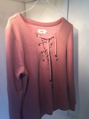 Only Long Sweater pink-dusky pink