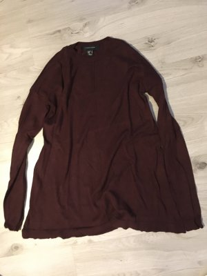 Atmosphere Long Sweater bordeaux-blackberry-red