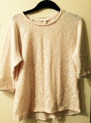 Pullover in zarten rosé Pastelltönen