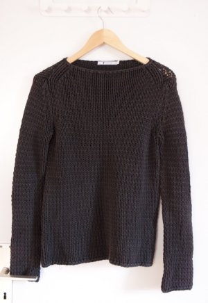 Alexander Wang Coarse Knitted Sweater multicolored cotton