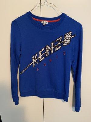 Kenzo Sweatshirt wit-blauw