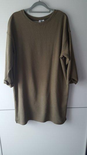 H&M Sweatjurk groen-grijs-khaki