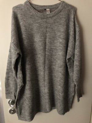 H&M Sweater Dress grey-light grey