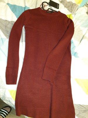 Brave Soul Abito maglione rosso scuro