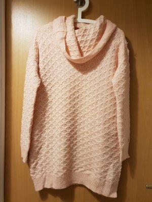 Pullover - Kleid in Rosa