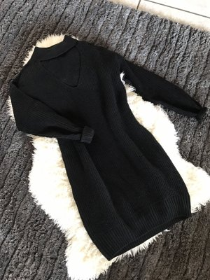 Pullover Kleid mit cut out