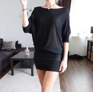 Pullover Kleid Wollkleid Gr. S schwarz