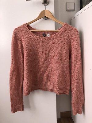 Pullover kurz geschnitten Strick
