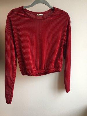 Zara Pull de Noël rouge