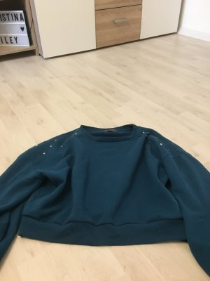 Pullover kurzer Pullover Nieten